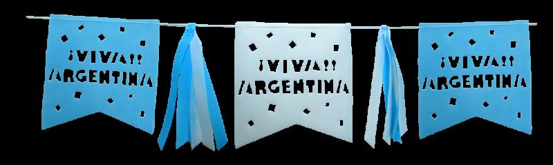Banderin VIVA Argentina